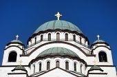 Detail From Saint Sava Church, Belgrad, Serbia poster