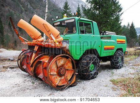 Snow Removal Vehical