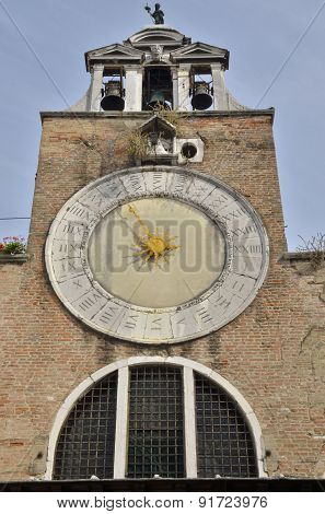 Tower Bell Of San Giacomo Di Rialto Church