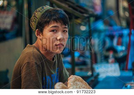 Hui Muslim in Xian, China