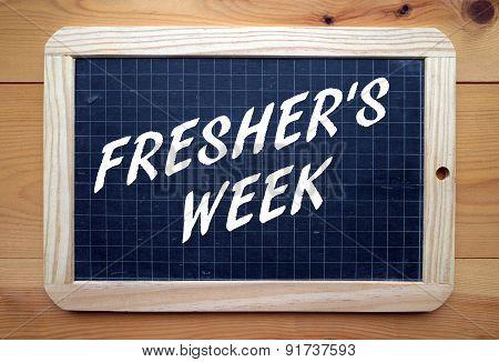 Fresher's Week