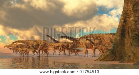 Spinophorosaurus Dinosaur Travel