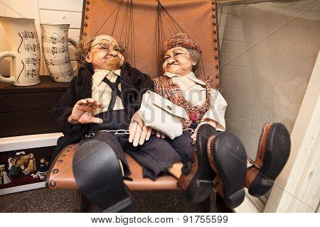 Czech Puppet Couple