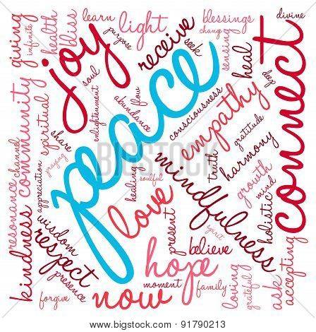 Peace Word Cloud