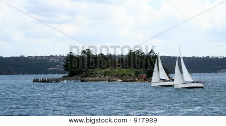 Shark Island & Boats