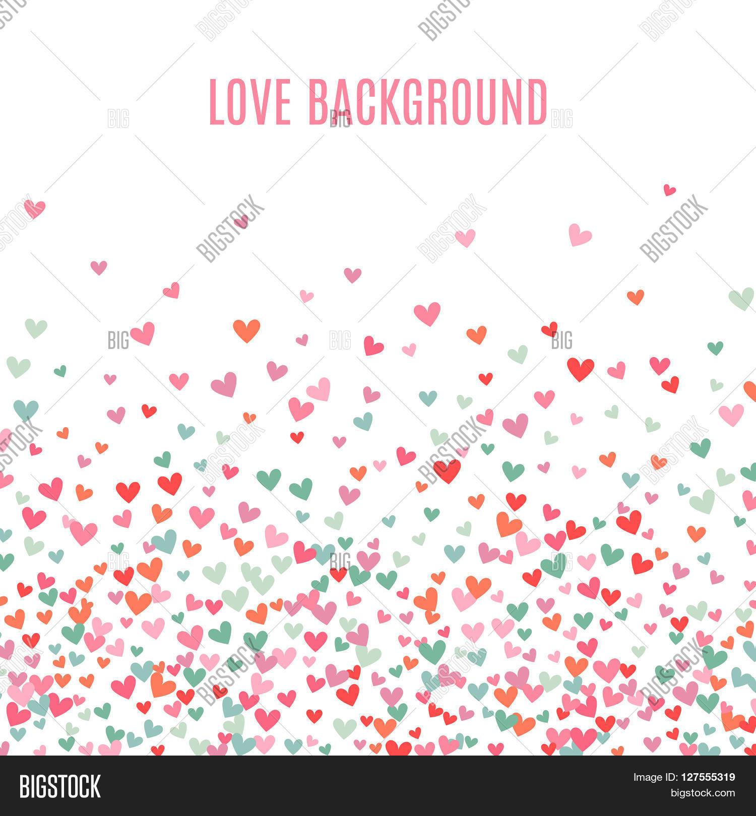 Romantic Pink Blue Image Photo Free Trial Bigstock