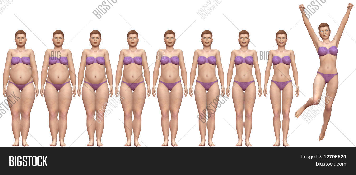 fat fit before after image photo free trial bigstock