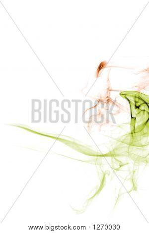 Abstract Smoke Velociraptor