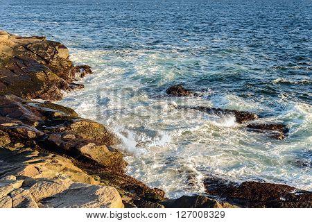 Famous Peggys Cove shoreline (Nova Scotia Canada)
