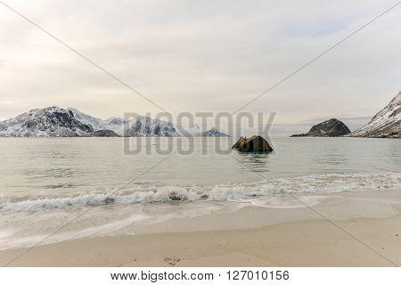 Haukland Beach - Lofoten Islands, Norway