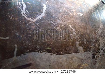 Tarnished Sterling Silver Background