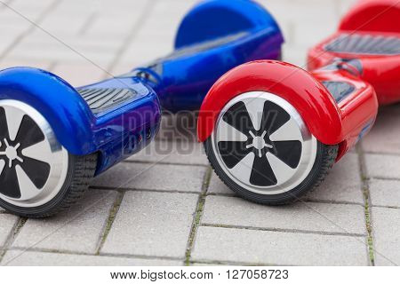 Electric Mini Segway Or Hover Board Scooters