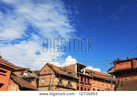Ancient City in BHAKTAPUR
