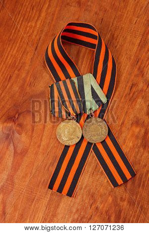 Medals For The Victory Over Germany And For The Liberation Of Belgrade