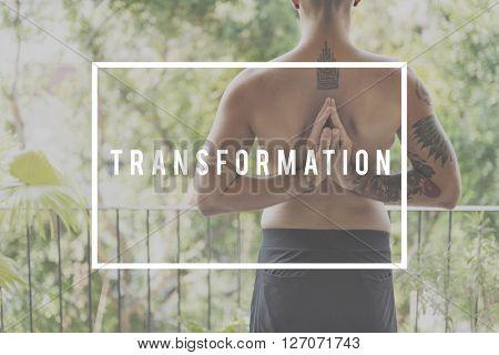 Transform Change Free Matrix Nature Energy Concept