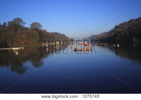 Boats At Rudyard