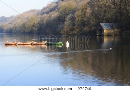 Rowing Boats & Boathouse