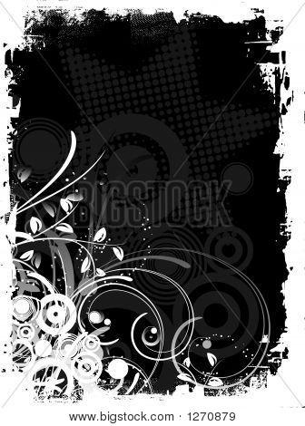 Grunge abstracta decorativa