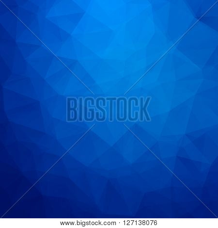 Abstract geometric triangle background. Vector illustration for modern design. Green blue colors. Aqua water ice crystal. Bright poster. Decorative graphic mosaic texture. Retro wallpaper.