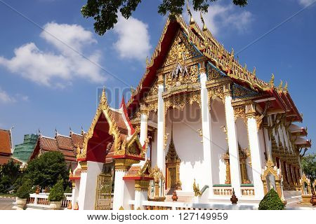 Chalong temple the most important temple of Phuket