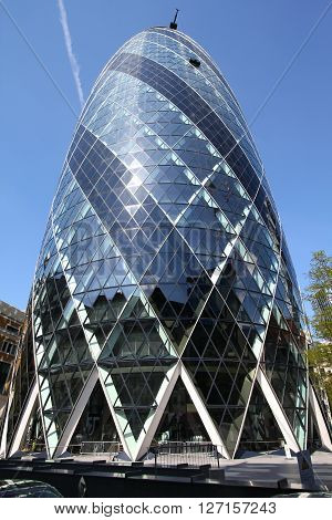 London Gherkin