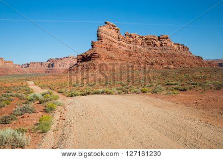 Valley Of The Gods Road, Utah, Usa