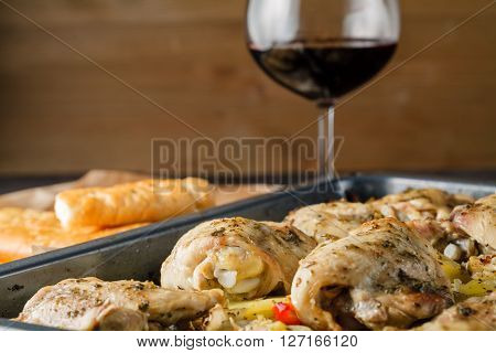 Lemon Chicken In A Pan