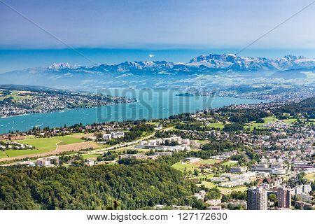 Zurich Mountain Uetliberg, Switzerland