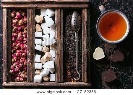 Set Of Dry Tea