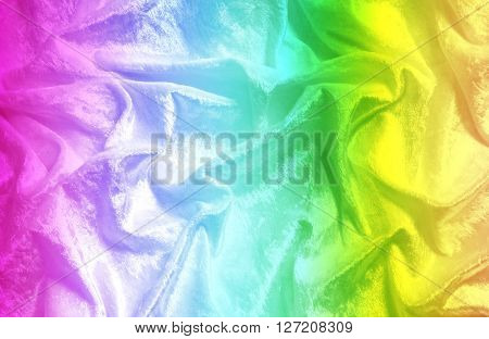 Rainbow textile background textile background