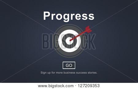 Progress Change Growth Development Improvement Concept