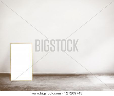 Blank Placard Copy Space Advertising Message Concept