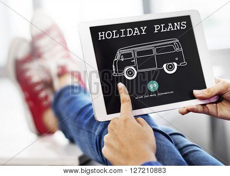 Holiday Plans Travel Retro Car