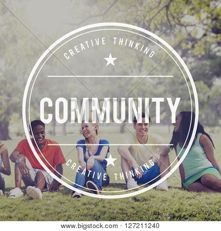 Community Diversity Society People Group Concept