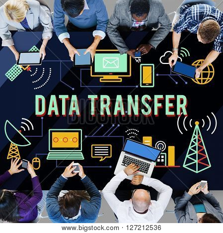 Data Transfer Technology Network Operation Information Concept