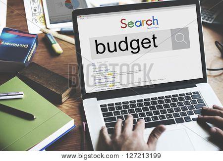 Budget Money Investment Revenue Finance Concept