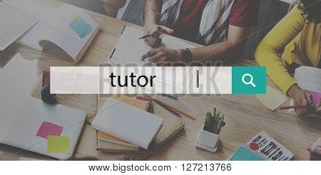 Tutor Coach Management Strategy Guidance Concept