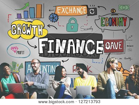 Finance Financial Banking Profit Revenue Accounting Concept