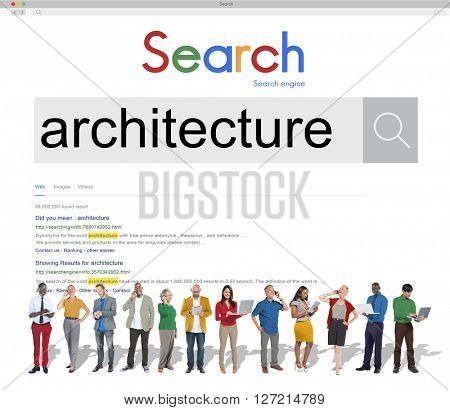 Architecture Search Business Concept