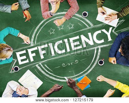 Efficiency Improvement Mission Motivation Development Concept