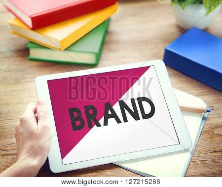 Digital Device Technology Brand Marketing Concept