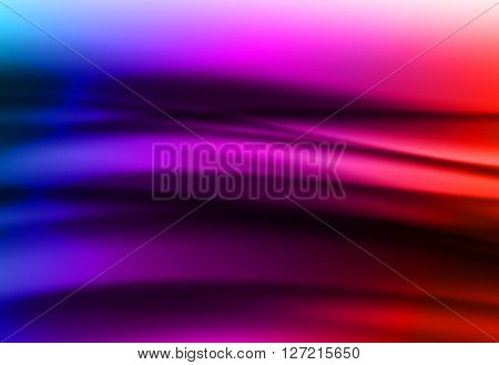 Colorful smooth light lines background easy editable