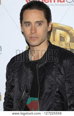 LAS VEGAS - APR 12:  Jared Leto at the Warner Bros. Pictures Presentation at CinemaCon at the Caesars Palace on April 12, 2016 in Las Vegas, CA