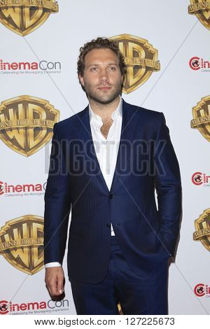 LAS VEGAS - APR 12:  Jai Courtney at the Warner Bros. Pictures Presentation at CinemaCon at the Caesars Palace on April 12, 2016 in Las Vegas, CA