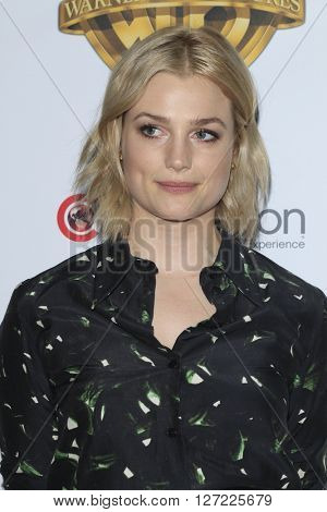 LAS VEGAS - APR 12:  Alison Sudol at the Warner Bros. Pictures Presentation at CinemaCon at the Caesars Palace on April 12, 2016 in Las Vegas, CA