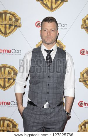 LAS VEGAS - APR 12:  Rawson Thurber at the Warner Bros. Pictures Presentation at CinemaCon at the Caesars Palace on April 12, 2016 in Las Vegas, CA