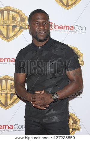 LAS VEGAS - APR 12:  Kevin Hart at the Warner Bros. Pictures Presentation at CinemaCon at the Caesars Palace on April 12, 2016 in Las Vegas, CA