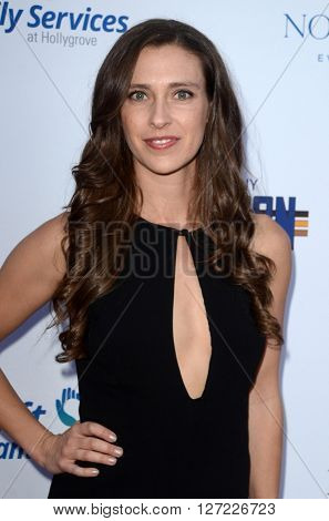 LAS VEGAS - APR 20:  Natasha Halevi at the Norma Jean Gala benefitting Hollygrove at the Taglyan Complex on April 20, 2016 in Los Angeles, CA