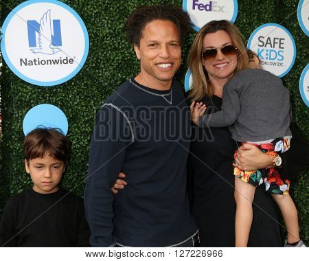 LOS ANGELES - APR 24:  Cobi Jones at the Safe Kids Day at the Smashbox Studios on April 24, 2016 in Culver City, CA