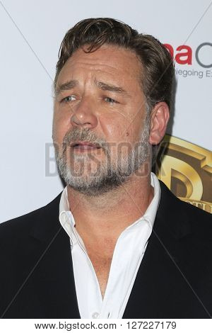 LAS VEGAS - APR 12:  Russell Crowe at the Warner Bros. Pictures Presentation at CinemaCon at the Caesars Palace on April 12, 2016 in Las Vegas, CA